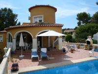 Villa in Moraira nahe am Meer!